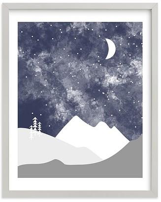 Pottery Barn Kids Minted Into the Nighttime Sky Wall Art by Kristen McEvenue