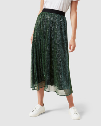 French Connection Metallic Skirt