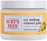 Burt's Bees Eye Makeup Remover Pads by 35pcs Pad)