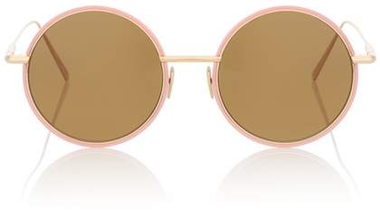 Acne Studios Scientist round sunglasses