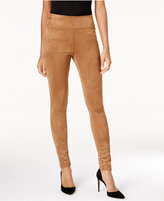 INC International Concepts Faux-Suede Skinny Pants, Created for Macy's