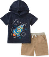 Kids Headquarters 2-Pc. Graphic-Print T-Shirt & Shorts Set, Baby Boys