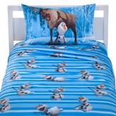 Disney Frozen Olaf & Sven Sheet Set with Reversible Pillowcase