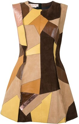 Marni Panelled Short Dress