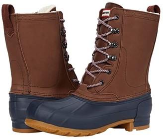 Hunter Insulated Pac Boot (Burnt Sienna/Navy) Women's Boots