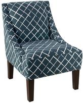 Skyline Furniture Swoop Arm Chair - Cove End Indigo