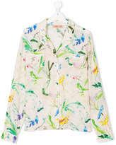 No21 Kids TEEN printed pyjama shirt