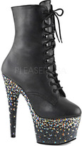 Pleaser USA Women's Starsplash 1020-7 Ankle Boot