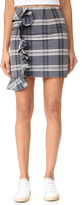 Viva Aviva Mini Plaid Ruffled Skirt