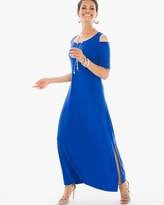 Chico's Cold-Shoulder Maxi Dress