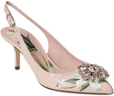 Dolce & Gabbana Leather Slingback Pump