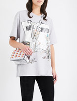 Moschino Mouse-print cotton-jersey T-shirt