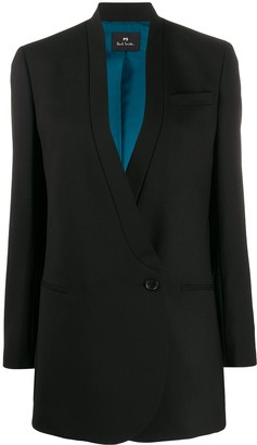 Paul Smith longline single breasted blazer