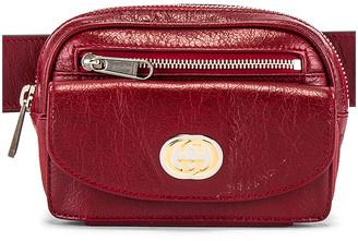 Gucci Belt Bag in Red   FWRD