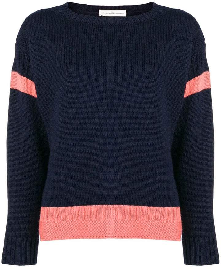 Golden Goose stripe insert sweater