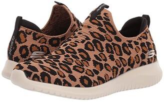 Skechers Ultra Flex - Wild Expedition (Leopard) Women's Shoes