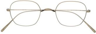 Oliver Peoples Carles round framed glasses