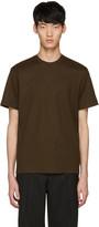 John Lawrence Sullivan Johnlawrencesullivan Khaki Waffle Knit T-shirt
