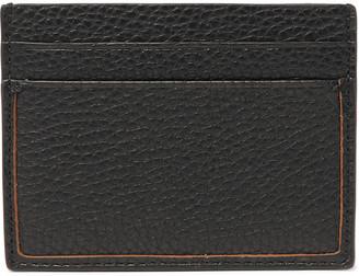 Ermenegildo Zegna Full-Grain Leather Cardholder