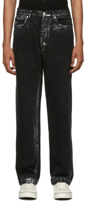 Tanaka Black and Silver Dad Jeans