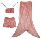 Eyekepper 3PCs Swimmable Mermail Tail Princess Bikini Bathing Costume Wear