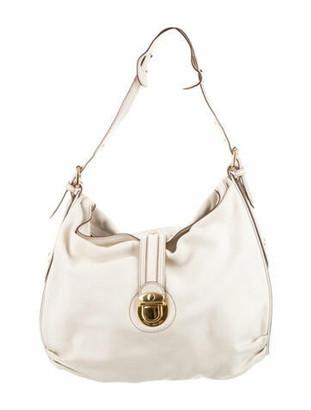 Marc Jacobs Leather Hobo Bag White