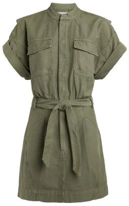 Frame Belted Shirt Dress