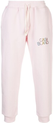 Casablanca Embroidered Logo Track Pants