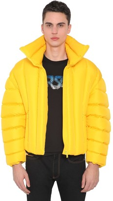 Versace Quilted Down Bomber Jacket