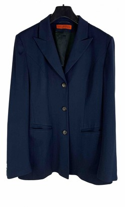 Iris von Arnim Blue Wool Jackets
