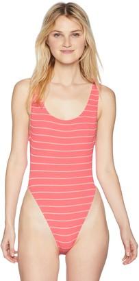 Body Glove Women's Rush Scoop Back One Piece Swimsuit