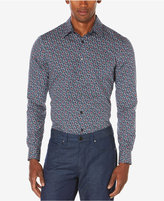 Perry Ellis Men's Big and Tall Multi-Color Floral Print Shirt, A Macy's Exclusive Style