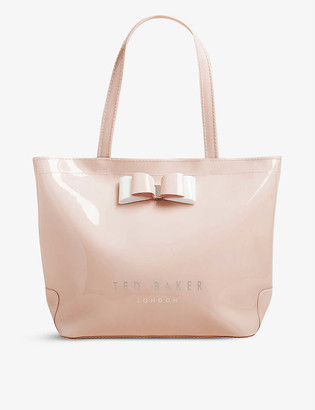 Ted Baker Haricon bow-trimmed small icon bag