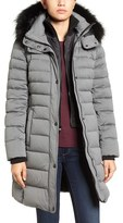 Andrew Marc Women's Quilted Down Jacket With Genuine Fox Fur Trim