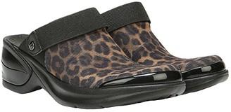Bzees Kitty (Black/Brown Leopard) Women's Slip on Shoes