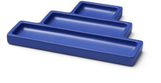 Octaevo - Blue desk tidy / trinket catchall