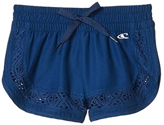 O'Neill Kids Eden Girls 2 Boardshorts (Little Kids/Big Kids) (Navy) Girl's Swimwear