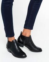 Head Over Heels By Dune Piro Black Chelsea Boots