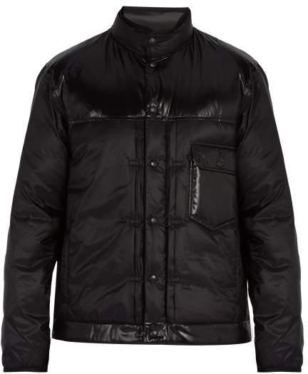 Moncler 7 Fragment - Quilted Down Jacket - Mens - Black