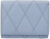 Givenchy Blue GV3 Trifold Wallet