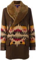 Ralph Lauren aztec pattern coat