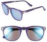 Persol 52mm Folding Sunglasses