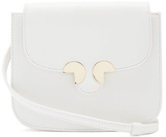 Rodo Small Leather Cross-body Bag - White