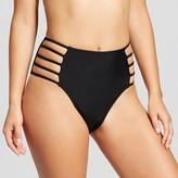Xhilaration Women's Strappy High Waist Bikini Bottom