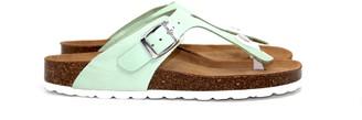 Grand Step Shoes - Mana mint - eco friendly sandals - 37 - White/Green/Blue