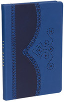 Ted Baker Blue Brogue Notebook