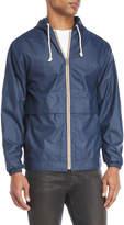 Weatherproof Hooded Wind Slicker Jacket