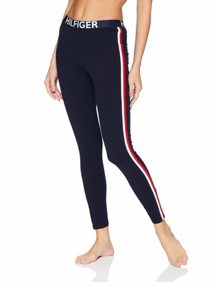 Tommy Hilfiger Tommy Women's Retro Style Logo Graphic Leggings Pant Lounge Pj