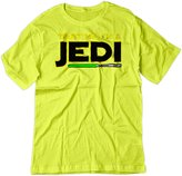 BSW YOUTH Trust Me I'm A Jedi Star Wars Knight Theme Shirt XS Yellow