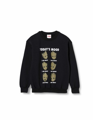 Marvel Girl's Guardians of The Galaxy Vol 2 Groot Today's Mood Sweatshirt